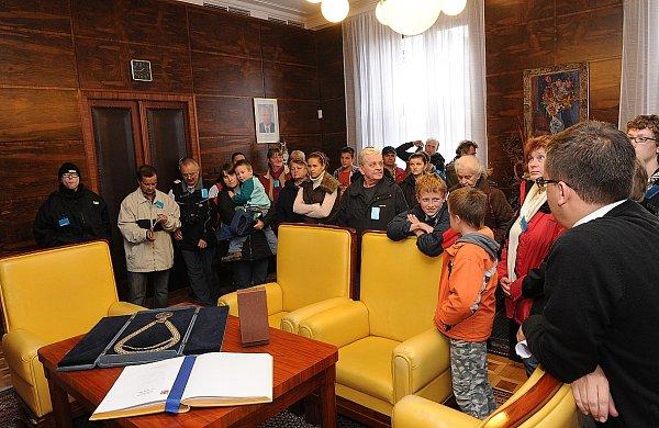 Den otevřených dveří na Nové radnici.