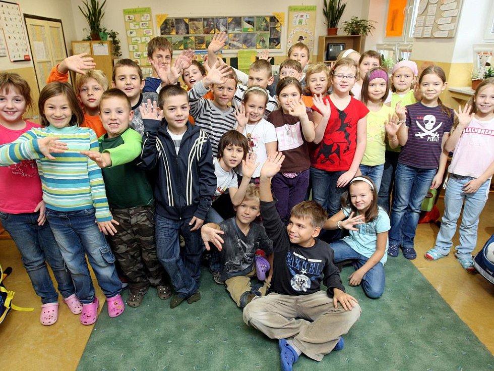 Žáci ze třetí třídy Základní školy Porubská 832 odpovídali Deníku na tři zajímavé otázky.
