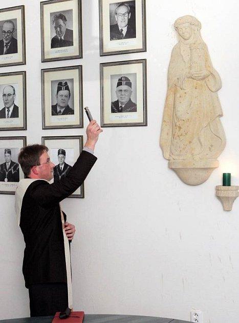 Svatou Barboru posvětil vikář ostravsko-opavské diecéze Martin David