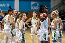 Basketbalistky SBŠ Ostrava se těší na první zápas po restartu ligy. V hale Tatran v sobotu přivítají Slovanku Mladá Boleslav