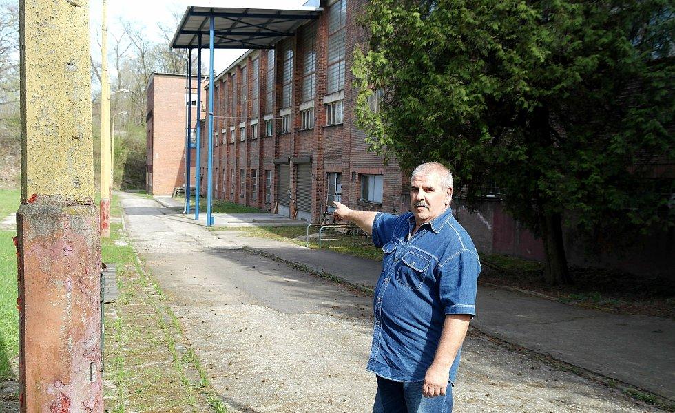 Budova sídla báňské záchranky na Barboře, odtud před čtyřiceti lety Luboš Civín vyráží na první zásah.