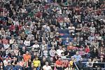 Fed Cup v Ostravě, neděle 12. února 2017.