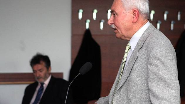Adolf Fešárek u ostravského okresního soudu