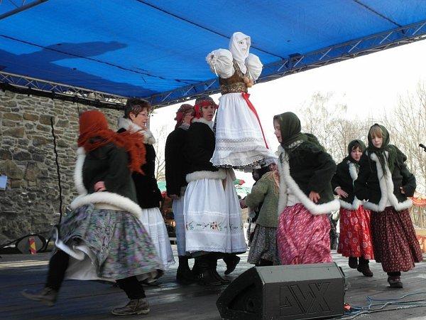 Ilustrační foto zpředchozích ročníků velikonoční akce na Slezskoostravském hradě.