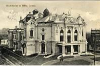 Městské divadlo v Moravské Ostravě.