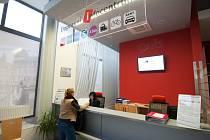 Dopravní infocentrum v Ostravě.