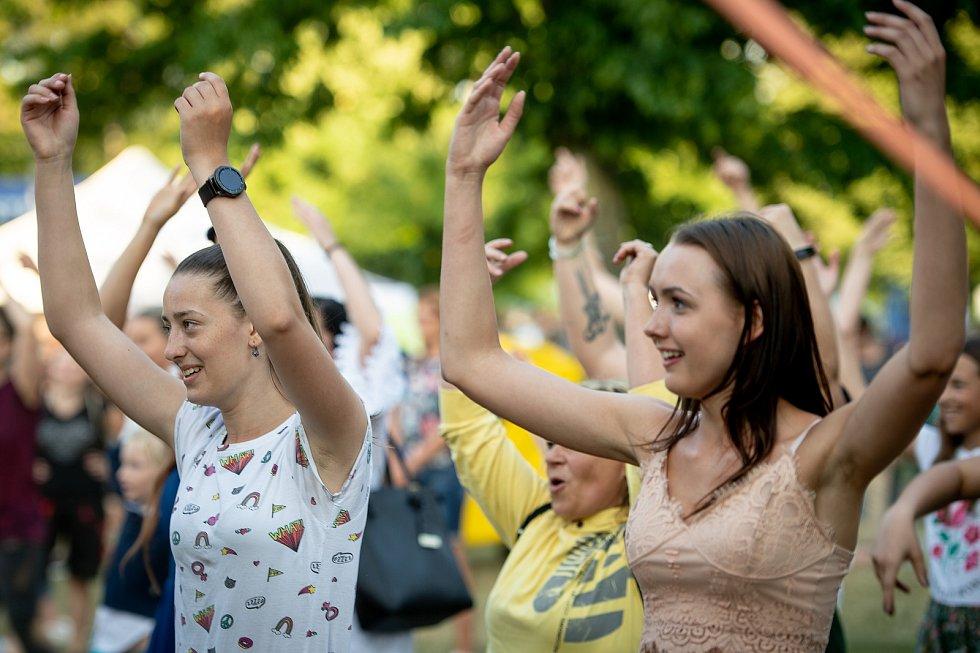Festival v ulicích, 28. června 2019 v Ostravě.