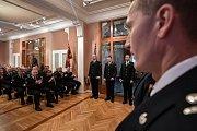 Ocenění hasičů za službu, 25. ledna v Ostravě.
