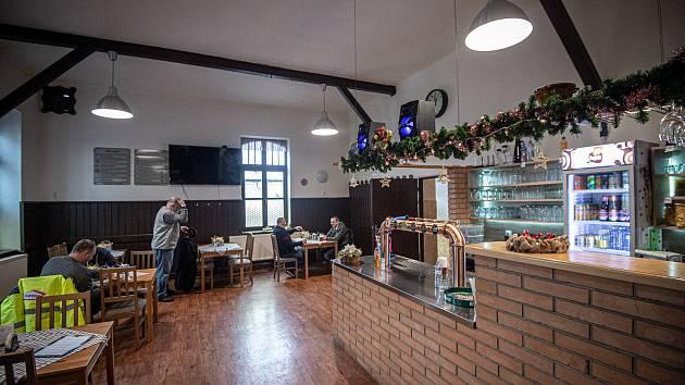 Restaurace u Slunce ve Svinově, 10. prosince 2020.