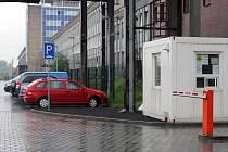 Záchytné parkoviště u Hlavního nádraží v Ostravě