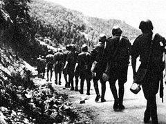 K Slovenskému národnímu povstání se připojila i skupina protektorátních četníků z Ostravy, z nichž velká část padla anebo byla v zajetí popravena.