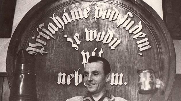 První ředitel pivovaru Radegast a válečný veterán Václav Petras.
