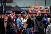 Burger festival u nákupního centra Forum Nová Karolina, 11. května 2019 v Ostravě.