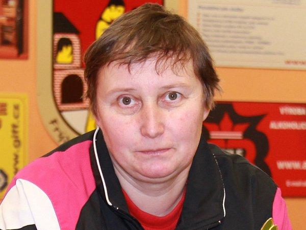 Marie Hrachová, trenérka stolního tenisu, Frýdlant nad Ostravicí