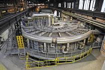 Karuselová pec ve čtvrté fázi projektu získá automatický model řízení.