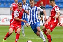 FNL: MFK Vítkovice - FK Pardubice.