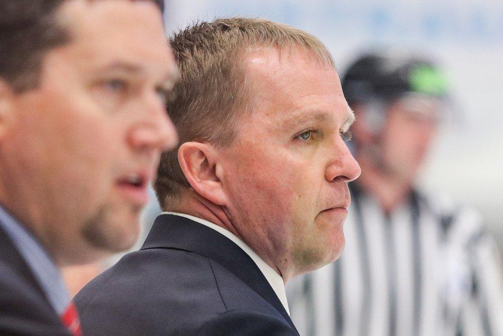 Mistrovství světa v para hokeji 2019, 3. května 2019 v Ostravě.  Na snímku trenér USA Douglas Christopher.