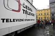 Den otevřených dveří dostali diváci veřejnoprávní televize u příležitosti 60. výročí zahájení vysílání. V sobotu proběhl nejen v Ostravě, ale i v pražském a brněnském studiu.