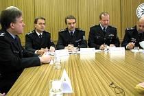 Vedení severomoravské policie