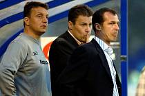 Radek Látal v roli trenéra (na snímku vpravo)
