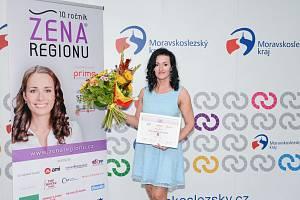 Bohdana Pufferová, vítězka jubilejního desátého ročníku prestižního ocenění Žena regionu za Moravskoslezský kraj.
