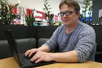 Počítač místo razicích či dobývacích technologií, to je nové uplatnění Tomáše Hisema.