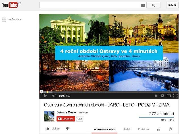 """Souhrnný videoklip """"time-lapse"""" zachycující nálady Ostravy na pozadí čtyř ročních období.  Autorem je známý fotograf Boris Renner specializující se na průmyslovou fotografii Ostravska."""