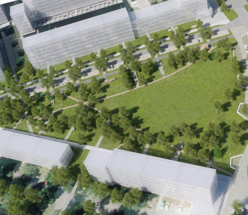 V dubnu 2021 začíná dostávat novou tvář náměstí Družby v Ostravě-Porubě.