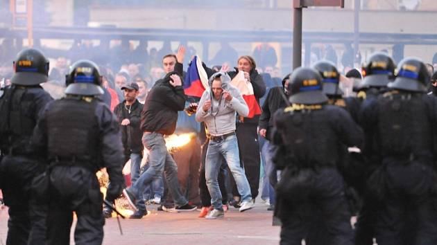 Nepokoje v Ostravě-Zábřehu