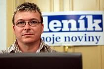 Lídr KSČM pro volby do ostravského zastupitelstva Martin Juroška během on-line rozhovoru se čtenáři Deníku.