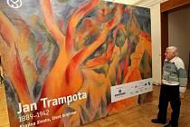 Dům umění vystavuje úctyhodné dílo českého malíře Jana Trampoty.