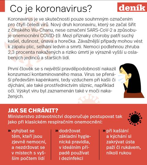 Koronavirus, přehled.