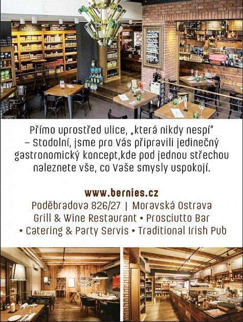Bernie ́srestaurant, Poděbradova 826/27, Ostrava