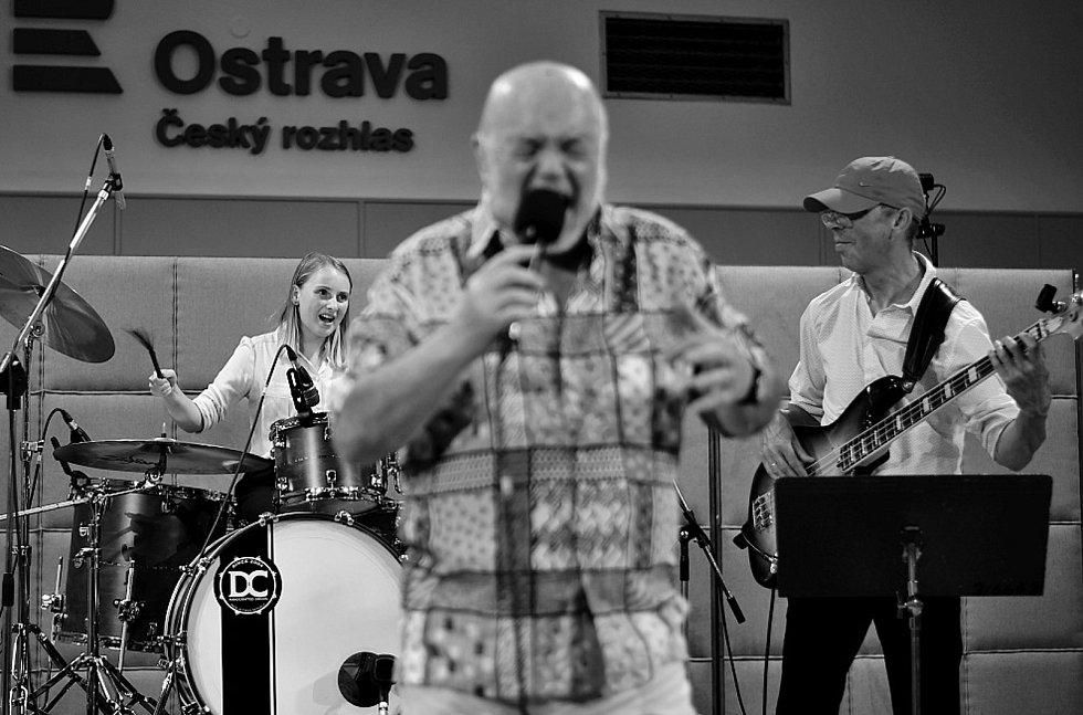 Z koncertu kapely Boris Band Combination v Českém rozhlase Ostrava