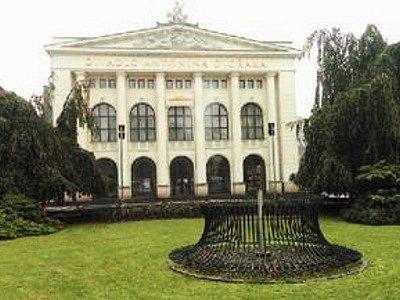 Národní divadlo moravskoslezské v Ostravě.
