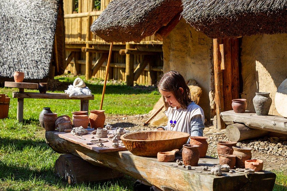 Archeopark Chotěbuz, 12. září 2020.