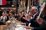 Soutěž výčepních Pilsner Urquell Master Bartende v restauraci P.U.O.R. Slezska, 14. května v Ostravě.