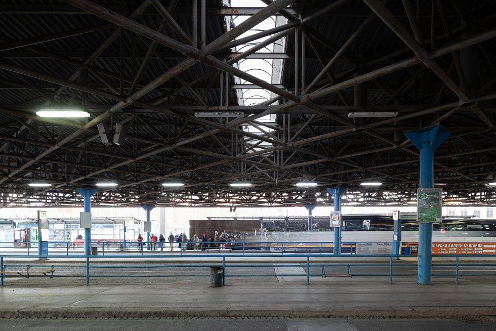 Modernizace hlavního brněnského autobusového nádraží Zvonařka.