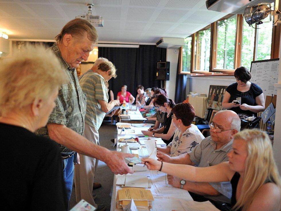 Eurovolby 2014 v Ostravě.