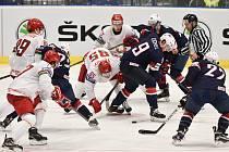 MS v hokeji, skupina B (Ostrava):  USA – Bělorusko 2:5
