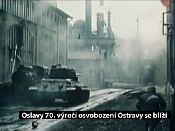 Nejrozsáhlejší oslavy osvobození Ostravy vrámci jejího kulatého výročí začnou už 15.dubna.