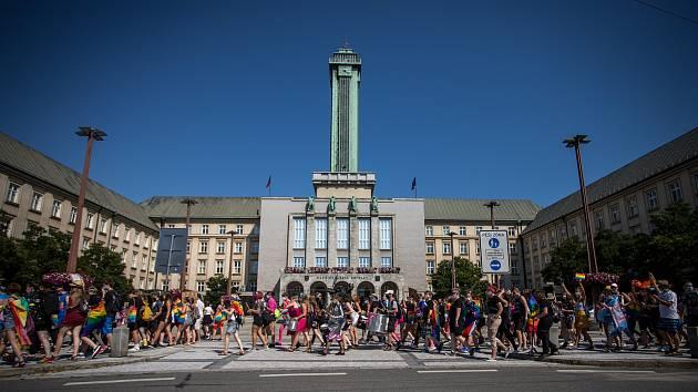 Ostravský Pride, 22. srpna 2020 v Ostravě.