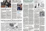 Světové média kde byla fotografie ze střelby ve FNO, noviny zde dne 11. prosínce 2019. Na snímku americké noviny USA TODAY (US Edition). 1