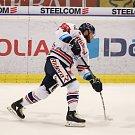 Utkání 34. kola hokejové extraligy: HC Vítkovice Ridera - HC Oceláři Třinec, 12. ledna 2019 v Ostravě. Na snímku Petr Šidlík.