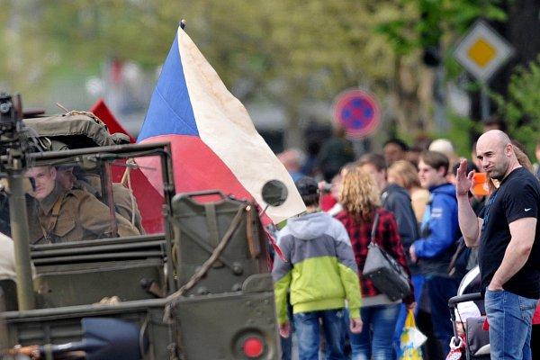 Oslavy 70.výročí osvobození vOstravě objektivem čtenářů Deníku.