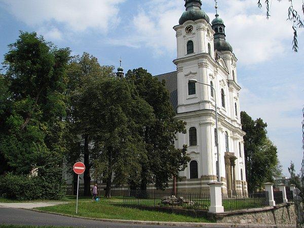 Bazilika minor zasvěcená Panně Marii Frýdecké.