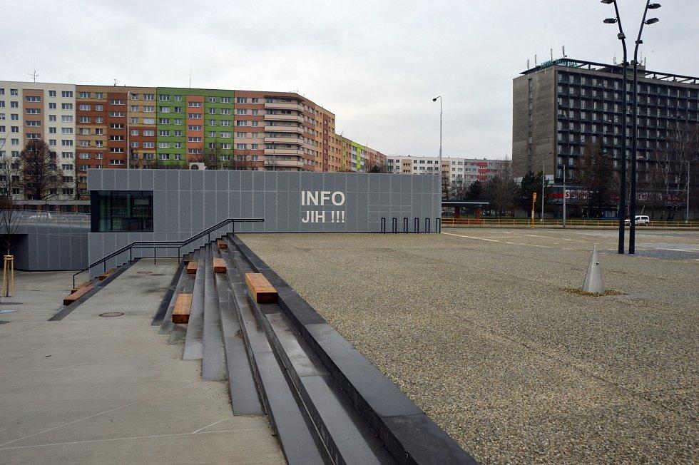 Nenovější infocentrum INFO JIH !!! na Náměstí Jih.