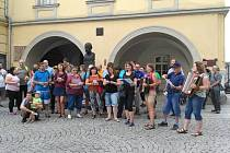 Setkání příznivců geocachingu v Ostravě 18. června 2018.