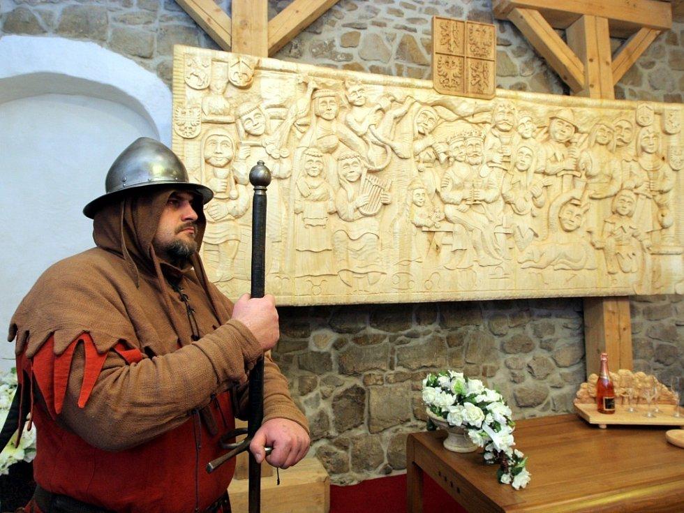 Nové prostory pro konání svateb jsou od včerejška k dispozici na Slezskoostravském hradě.