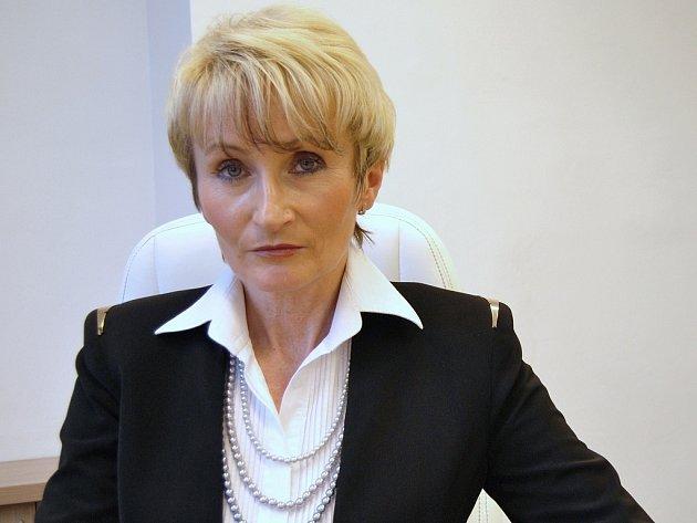 MARIE MARSOVÁ. Ředitelka Vítkovické nemocnice v Ostravě.